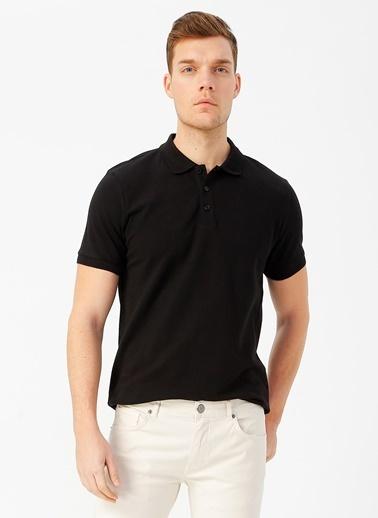 Fabrika Comfort Polo Tişört Siyah